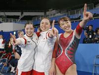 エースの森「ナショナルチーム全員で強くなった」 日本女子史上初の団体金 世界トランポリ…