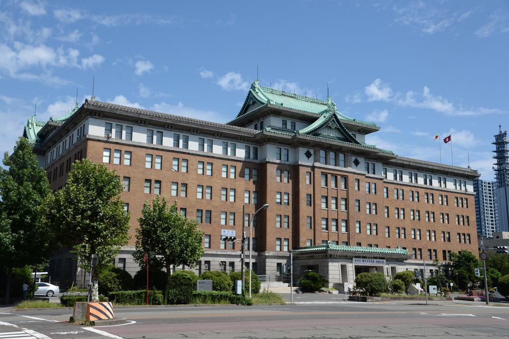 愛知県庁(矢島康弘撮影)