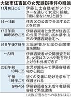 大阪女児不明1週間 矛盾する供述と行動、男の動機は…