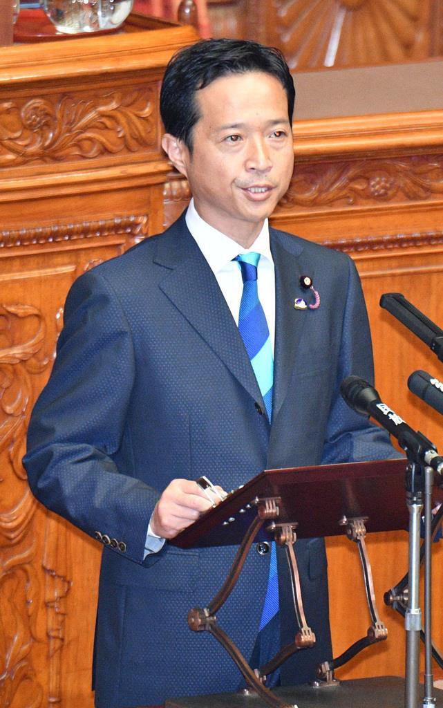 自民党の高野光二郎参院議員(斎藤良雄撮影)