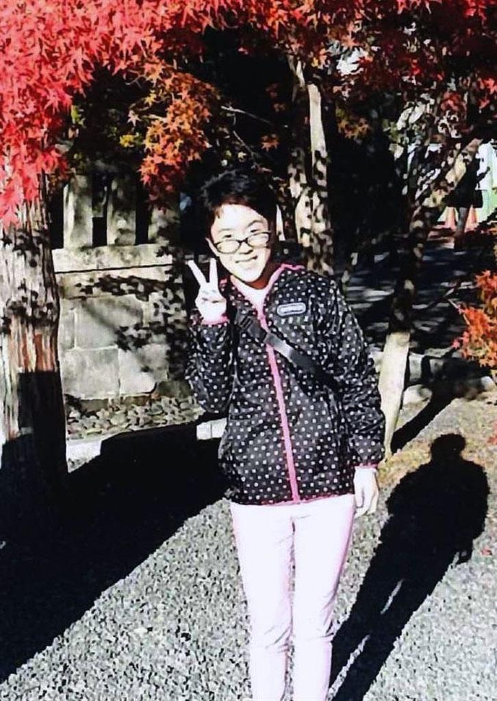 2018年11月、京都旅行を楽しむ女性(本人提供)