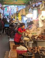 ソウル旅レポ 日本女性「映え」撮影楽しむ 食いしん坊記者の胃袋わしづかみ