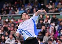 ナガマツ、桃田ら決勝 バドミントン全日本総合