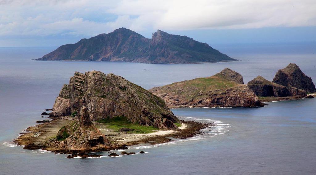 日本固有の領土である尖閣諸島(鈴木健児撮影)