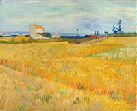 【ゴッホ展この1点】(5)「麦畑」1888年6月 黄金色に輝く生命