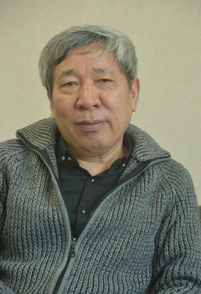 中国の作家、閻連科さん