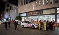 オランダ警察、35歳男逮捕 刃物で10代3人負傷