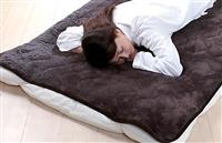 岩盤浴のようにあたたまる機能性寝具が今なら最大40%OFF