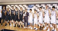 オールスター戦に49歳折茂ら バスケBリーグ、札幌で来年1月