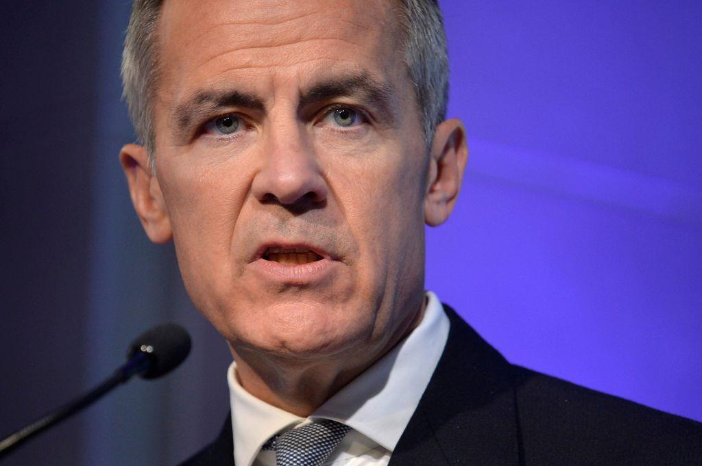 イングランド銀行(英中央銀行)のカーニー総裁(ロイター)