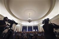 ウクライナ疑惑めぐる弾劾公聴会に出席拒否 米ホワイトハウス