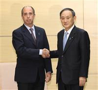 菅長官、国連の特別報告者に拉致解決の協力要請