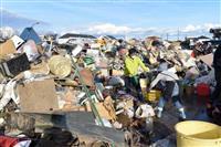 【台風19号】災害ごみ、住宅地など13カ所の仮置き場優先で年内搬出 栃木県方針