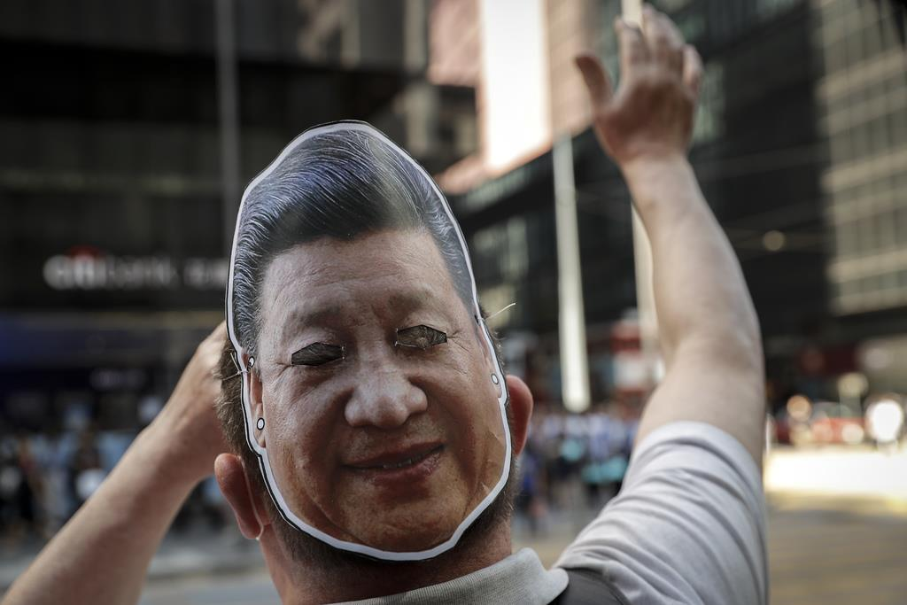 中国は三権分立を否定している(AP)