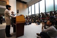 香港長官、今年度は財政赤字に 「香港経済は内憂外患」