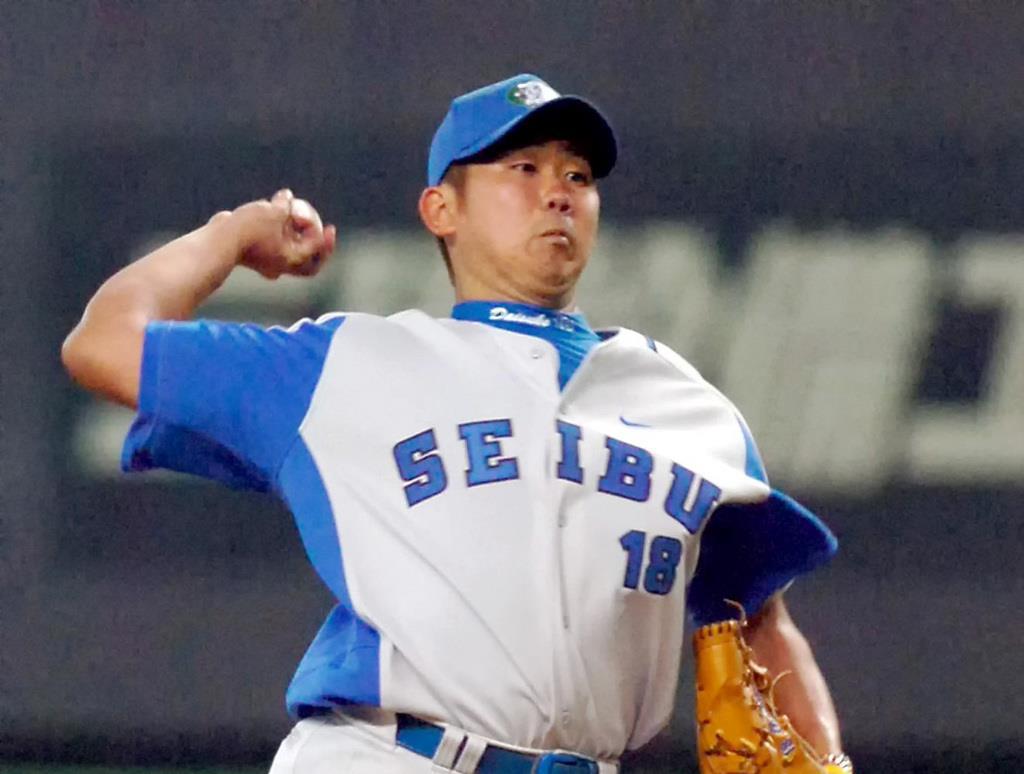 26歳の誕生日を完封勝利で飾った西武の松坂大輔投手=2006年9月