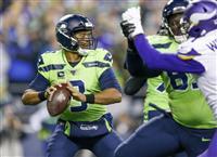 シーホークスが10勝目 NFL第13週最終日