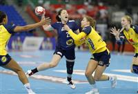 日本、スウェーデンに完敗 ハンドボール女子世界選手権