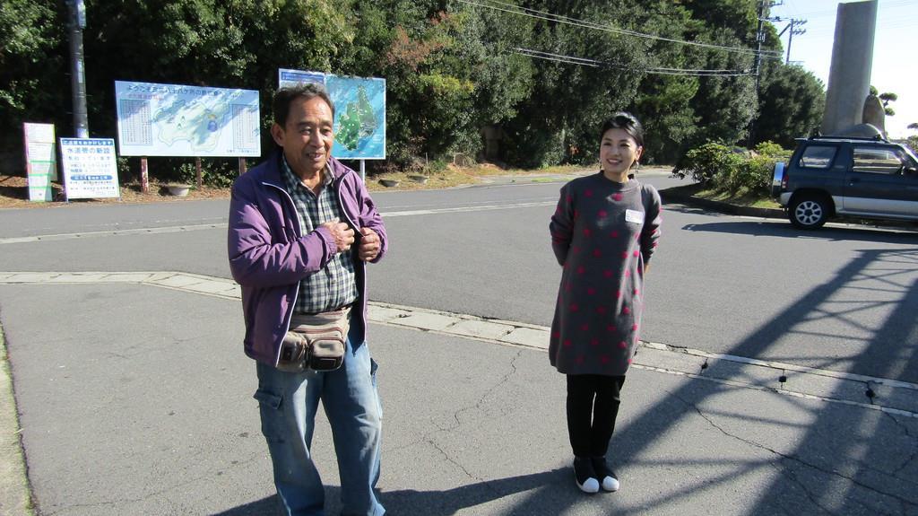 今回のイベントを企画した平井明さん(左)と小林希さん