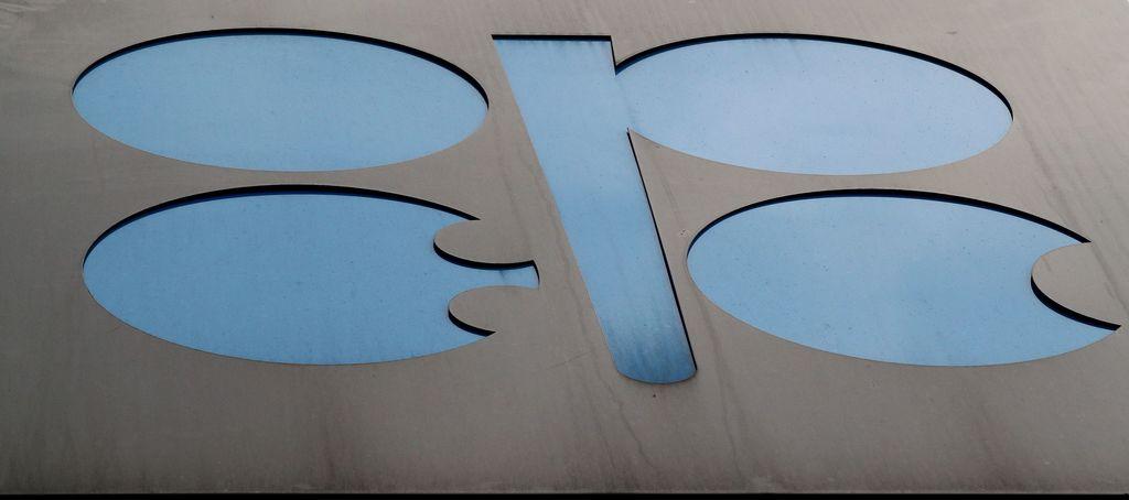 OPECのロゴマーク。産油国は5、6日にウィーンで会合を開き、今後の方針を決定する(ロイター)