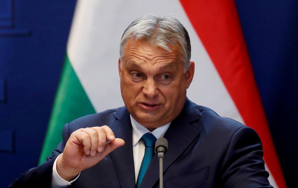 ハンガリーのオルバン首相(ロイター)