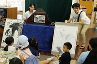 千葉舞台の紙芝居を創作 名馬と少年の物語 作者の坂井さん「郷土に誇りを」