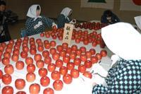 令和最初の献上リンゴを選果 青森県黒石市のりんご研究所