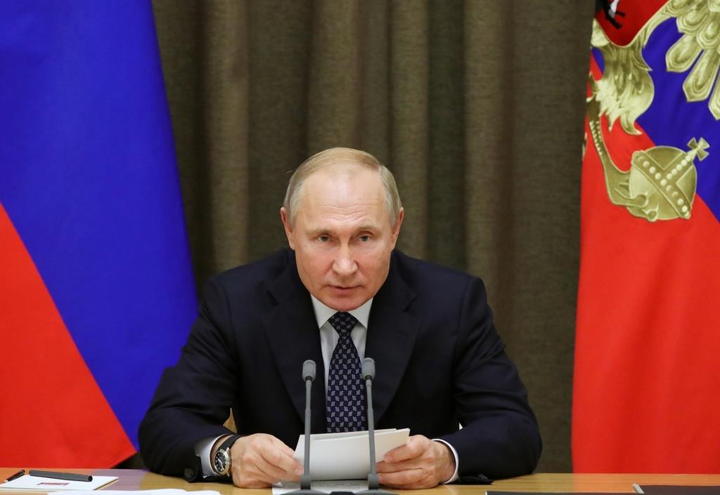 ロシアのプーチン大統領(Sputnik・AP)