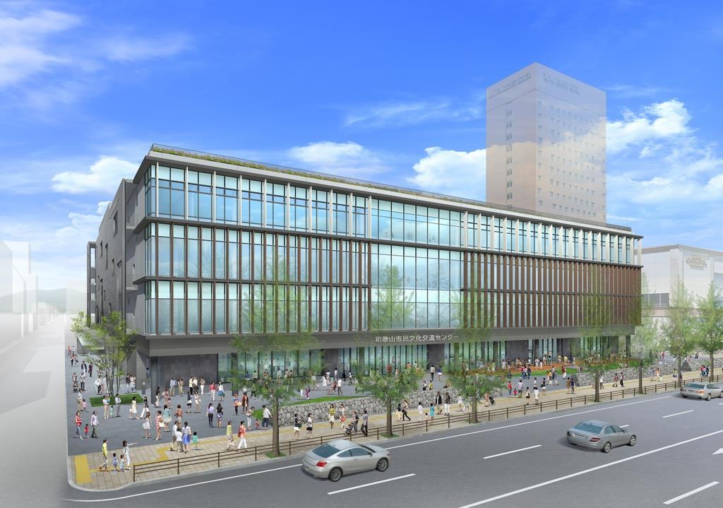 和歌山市の新市民会館の完成イメージ