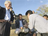 中村医師「男だったらやらんといかん」 アフガン救った昆虫少年