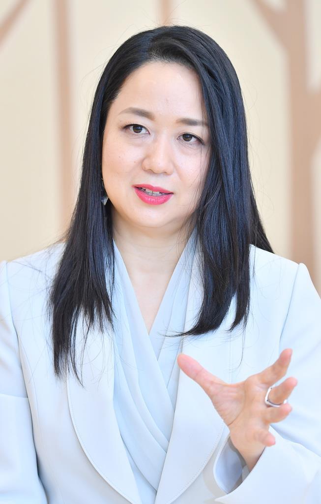 森トラストの伊達美和子社長(三尾郁恵撮影)
