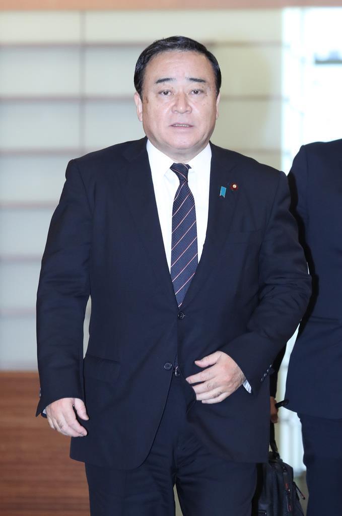 梶山弘志経済産業相(春名中撮影)