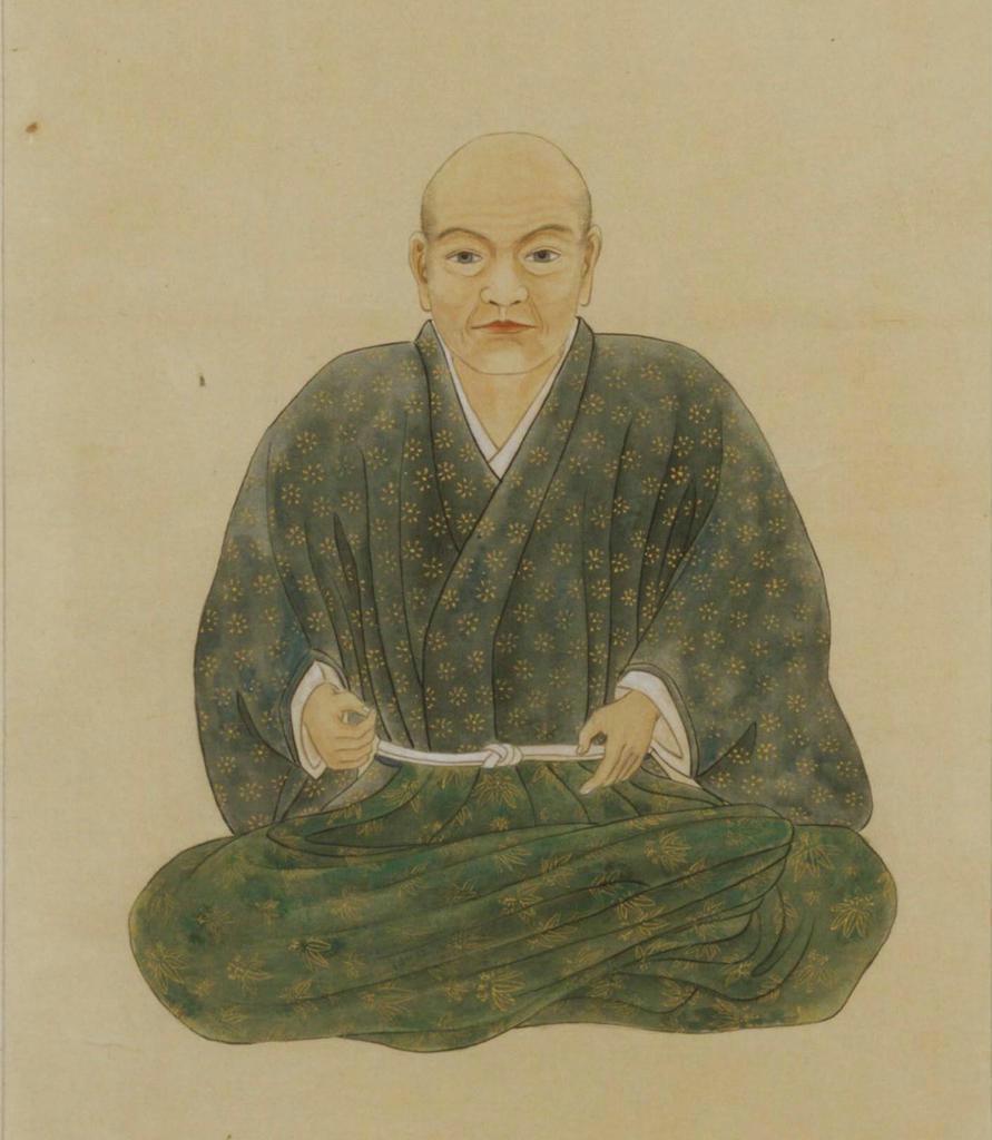 芦名盛氏像(模本、東大史料編纂所蔵)