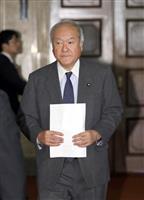 自民・鈴木総務会長 閣僚辞任2氏に「早く説明責任を」