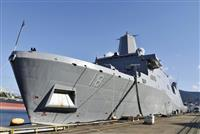 在日米軍が佐世保配備の揚陸艦を公開 長崎