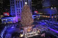 ニューヨーク恒例のツリー点灯