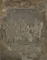 焼損の法隆寺金堂壁画、高精細デジタル撮影で色彩確認