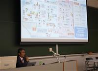 関学大で内田大阪本紙経済部長が「消費税」テーマに講演