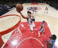 八村がチーム最多27得点 NBAウィザーズ7勝目貢献