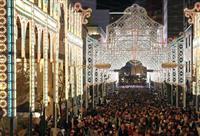 25年照らす50万個の光 神戸ルミナリエ開幕