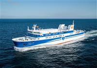 南海フェリー、15日に新造船「あい」就航