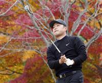 時松ら首位、今平5位 男子ゴルフ最終戦第3日