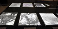 法隆寺金堂壁画の写真ガラス原板を公開