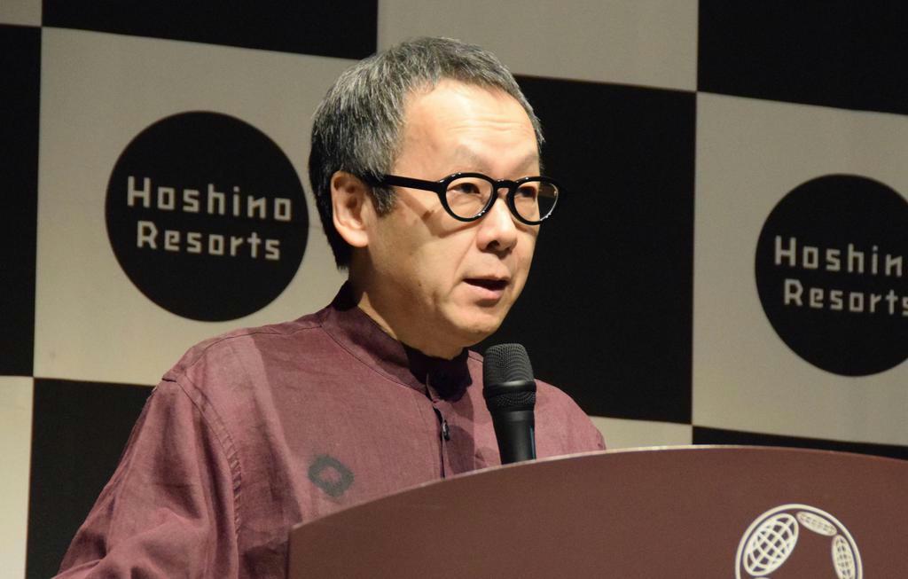 【話の肖像画】星野リゾート代表・星野佳路(59)(1)日本文化を背負って