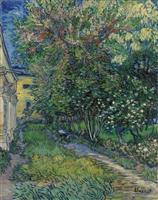 【ゴッホ展この1点】(6)「サン=レミの療養院の庭」1889年5月 静養と制作の日々