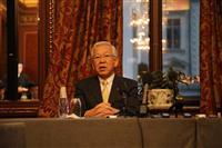 吉野さんノーベル賞 「功績の大きさ、日増しに強く感じた」 記念講演前に旭化成社長ら会見