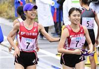 広中が五輪参加標準突破 陸上女子5千、U20日本新