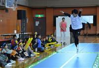 体操内村「痛」の1年 運動会に出席