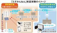 災害時もスマホつながる 大阪大学が開発したハイテク装置