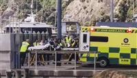 NZ火山島噴火、複数不明 50人が観光、負傷者も